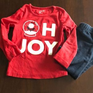 Baby Gap 3T holiday top